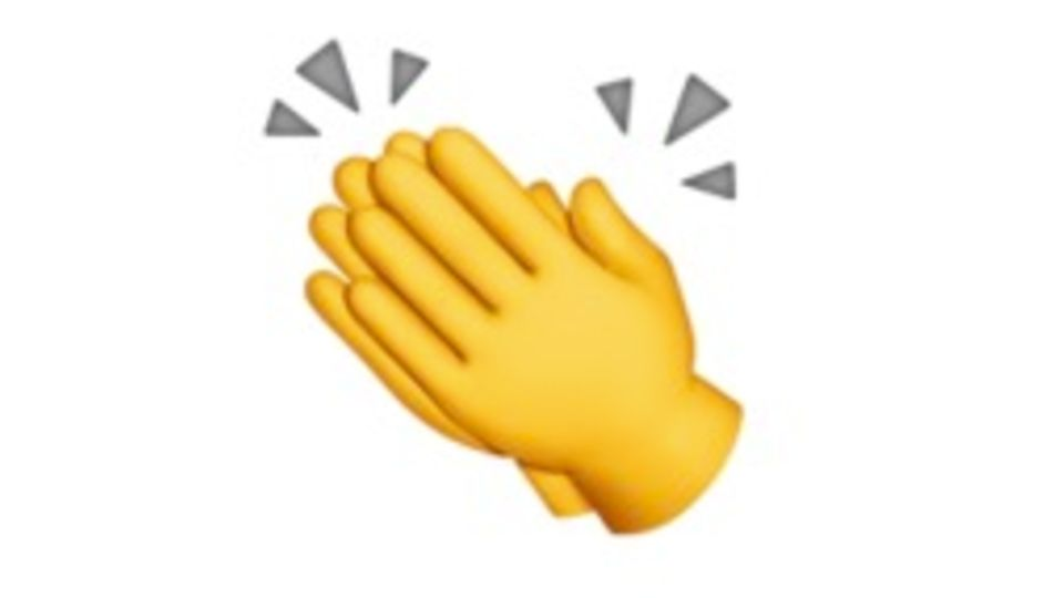 Klatschende Hände Emoji