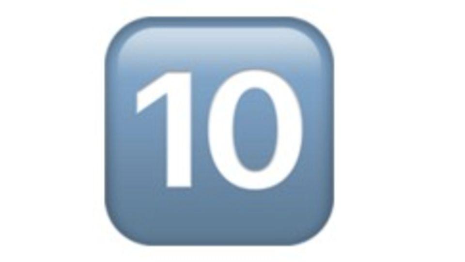 Zahlen Emoji
