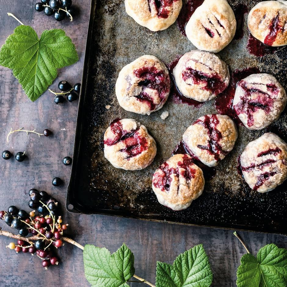 Rezepte zum Nachkochen: Nur für kurze Zeit: Machen Sie Johannisbeer-Küchlein