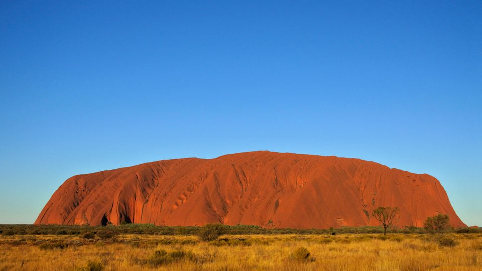 Der Ayers Rock in Australien