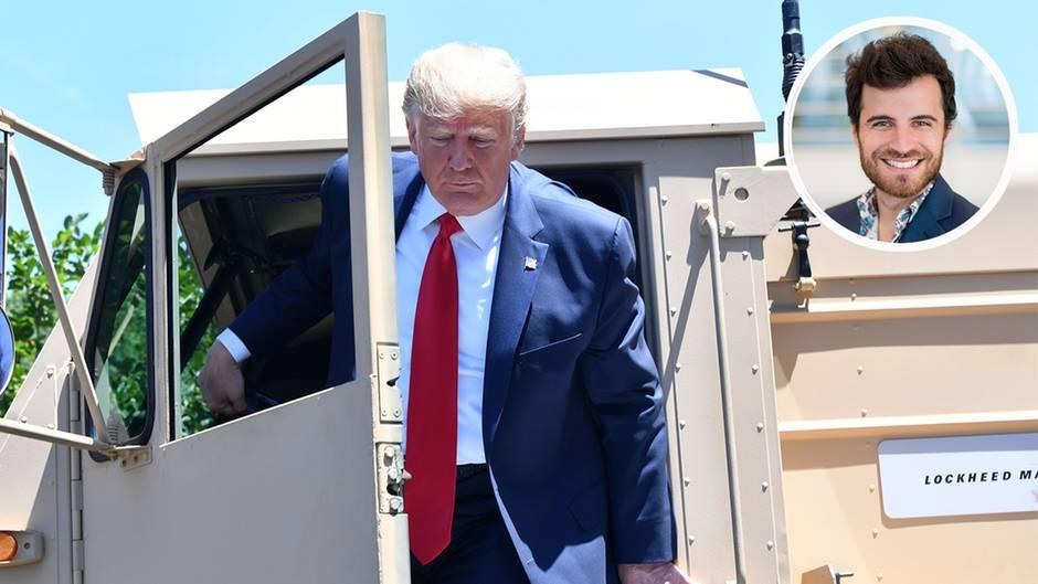 Donald Trump verschärft das Rassismus-Problem in den USA mit seiner Rhetorik gegen demokratische Abgeordnete.