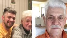 FaceApp: Männer vergleichen ihr Zukunfts-Ich mit ihren Vätern – Ähnlichkeit ist verblüffend