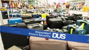 Nachrichten aus Deutschland: 2.500 Koffer blieben am Mittwoch in Düsseldorf stehen