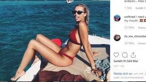 Vip-News: Lena Gercke bekommt Ärger für ihr Bikini-Bild