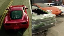 Gefälschte Sportwagen: Polizei nimmt dreiste Betrüger-Werkstatt hoch