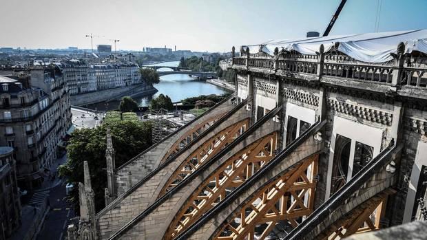 Paris: Notre-Dame-Tragödie – So sieht es heute in der Kathedrale aus
