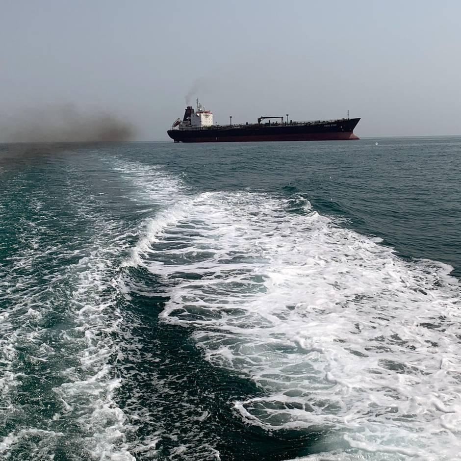 News von heute: Teheran setzt britischen Tanker in der Straße von Hormus fest
