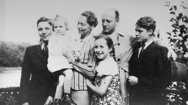 Familienfoto der von Tresckows