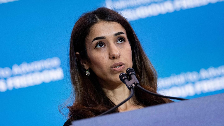 Die Jesidin und Friedensnobelpreisträgerin Nadia Murad