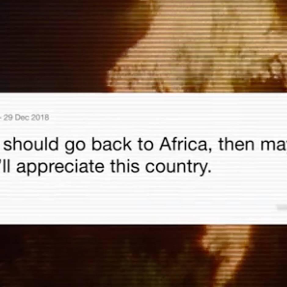 """#GoBackToAfrica: """"Geh zurück nach Afrika"""": Ein Satz, der nicht mehr mit Rassismus verbunden werden will"""