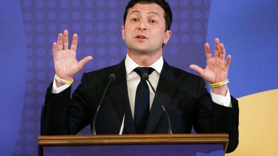 Wolodymyr Selenskyj, Präsident der Ukraine