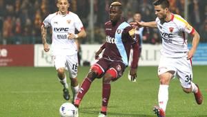 Der echte Lamin Jallow im Februar bei einem Spiel in der zweiten italienischen Liga