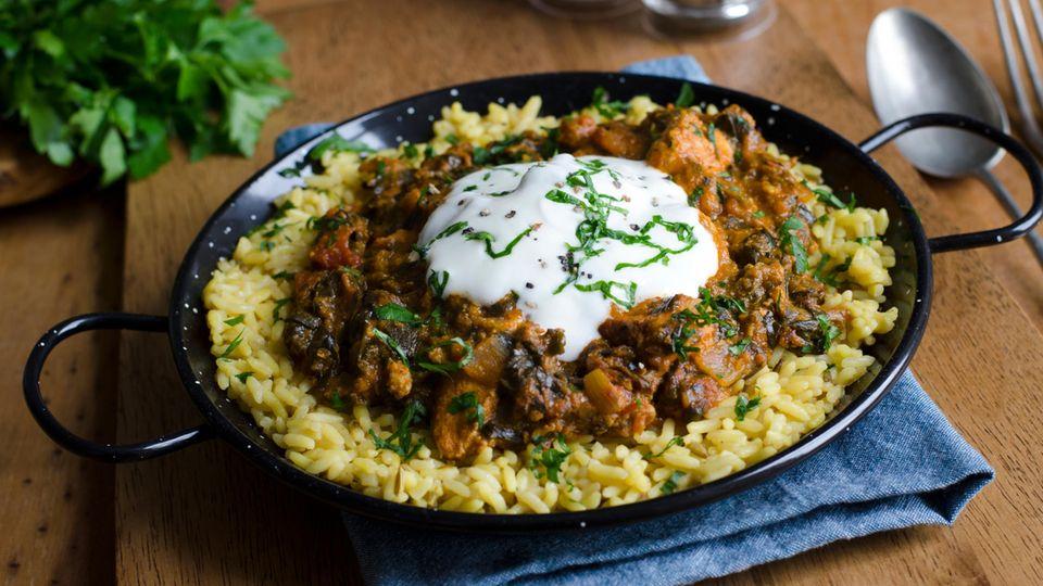 Chicken Curry mit Garam Masala