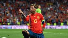 Sergio Ramos von Real Madrid