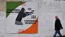 IRA-Wandgemälde in Derry / Londonderry