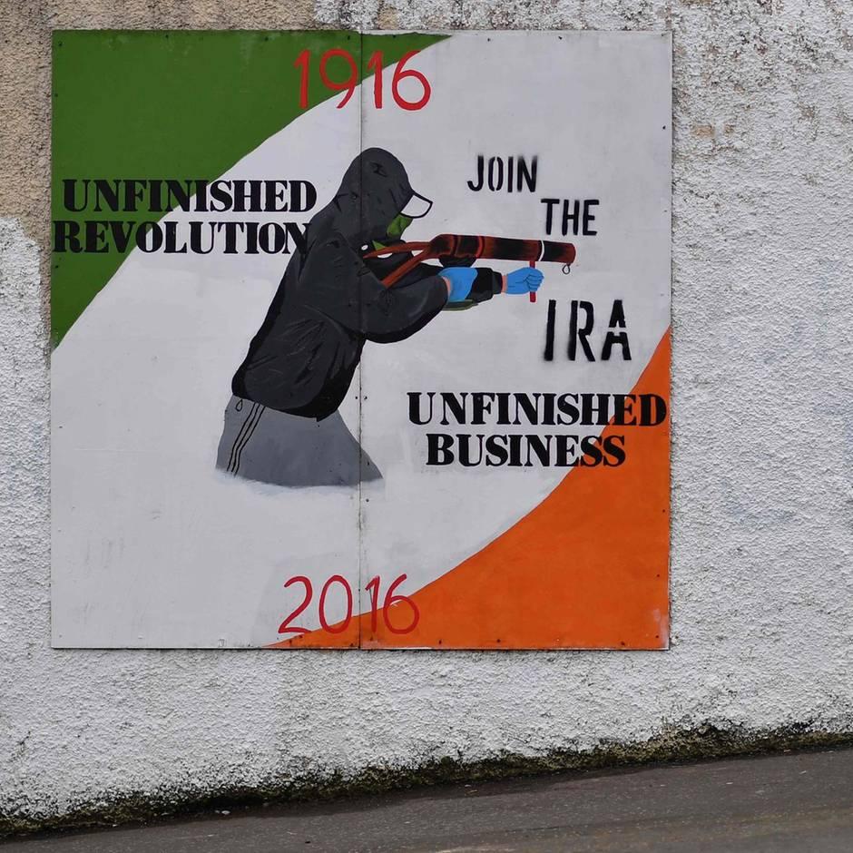 Vor dem Brexit: IRA – die alten Geister sind zurück in Nordirland