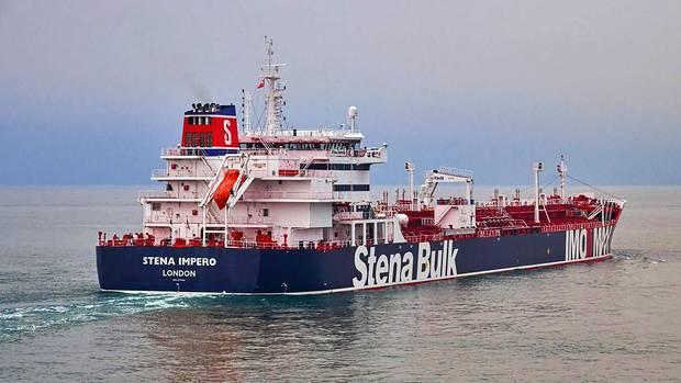 """Straße von Hormus: der britische Öltanker """"Stena Impero"""""""