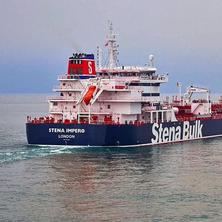 """Krise am Persischen Golf: Nach Festsetzung britischer Tanker: London droht Iran mit """"ernsthaften Konsequenzen"""""""
