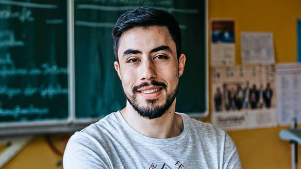 """Deutsche Schule funktioniert anders als syrische. Ali Alhalabieh sagt, er habe sich """"methodisch rasant verbessert"""""""