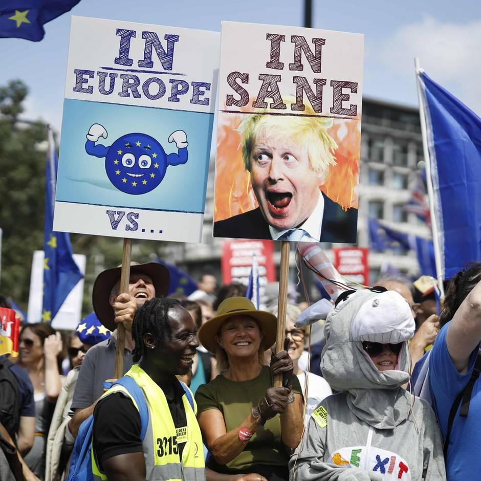 Nächster britischer Premier?: Aufstand in der Regierung: Mehrere Minister wollen bei Sieg von Boris Johnson zurücktreten