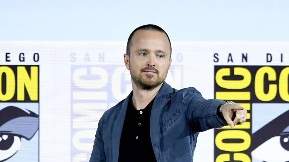 """Aaron Paul beim """"Westworld III""""-Panel während der Comic Con in San Diego"""