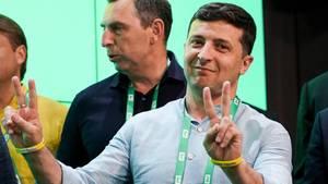 Derukrainische Präsident Wolodymyr Selenskyj