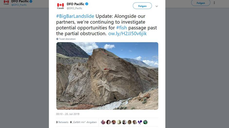 Lachsrettung Kanada