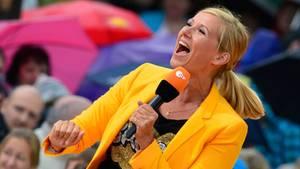 """""""Fernsehgarten"""": Andrea Kiewel"""