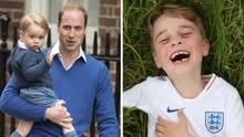 Prinz George feiert seinen sechsten Geburtstag