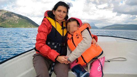 Monika Sviglinskaja und ihre Mutter Kristina