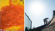 Hitzewelle und Hitzewarnung