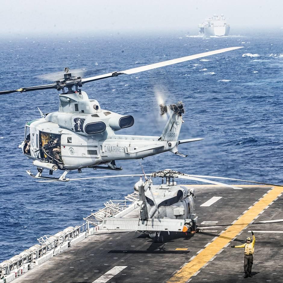 Radiowellen statt Projektile: US-Marine leitet durch ersten Abschuss mit Strahlenkanone eine neue Ära ein
