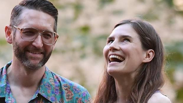 Amanda Knox und Christopher Robinson wollen heiraten