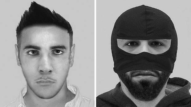 Phantombilder nach versuchter Gruppenvergewaltigung in NRW