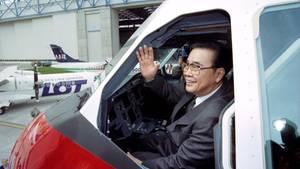 Chinas Ex-Regierungschef Li Peng