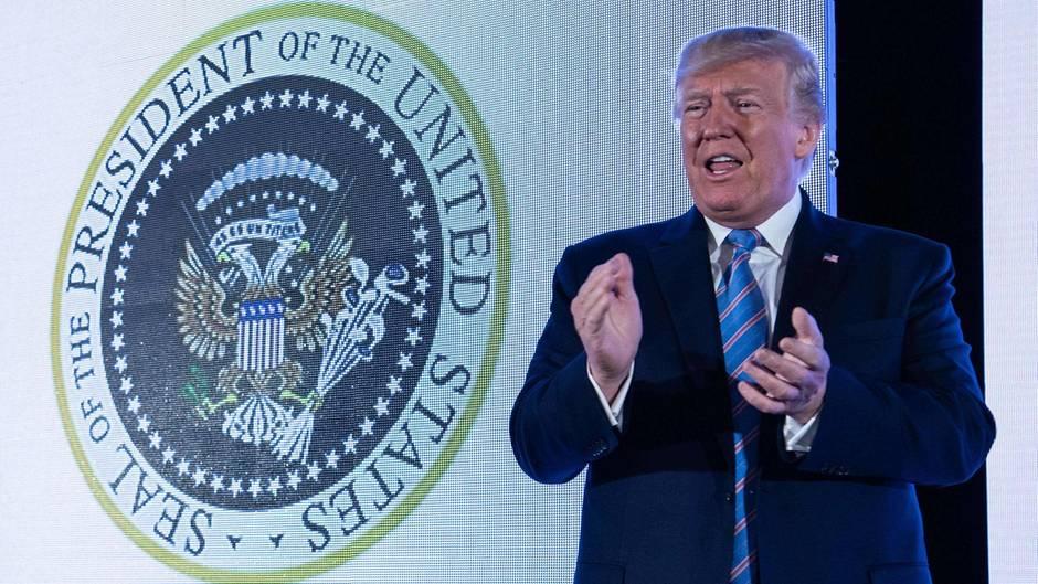 Donald Trump verschafft sich via Twitter-Tirade Luft