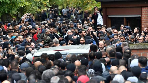 Beerdigung des Intensivtäters Nidal R.: Mehr als2000 Menschen nahmen von ihm Abschied