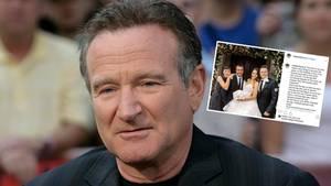 Der Sohn von Robin Williams hat geheiratet. Für die Feierlichkeiten hat er sich einen besonderen Tag ausgesucht: den Geburtstag seines verstorbenen Vaters.