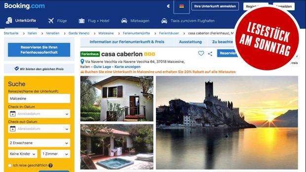 Kunden können bei Booking.com unter knapp 30 Millionen Einträgen auswählen. Nicht immer entsprechen die schönen Fotos und euphorischen Texte der Wirklichkeit