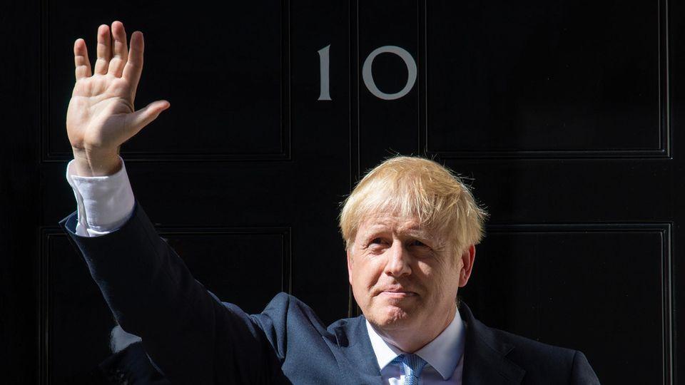 Boris Johnson, der neue Premierminister Großbritanniens
