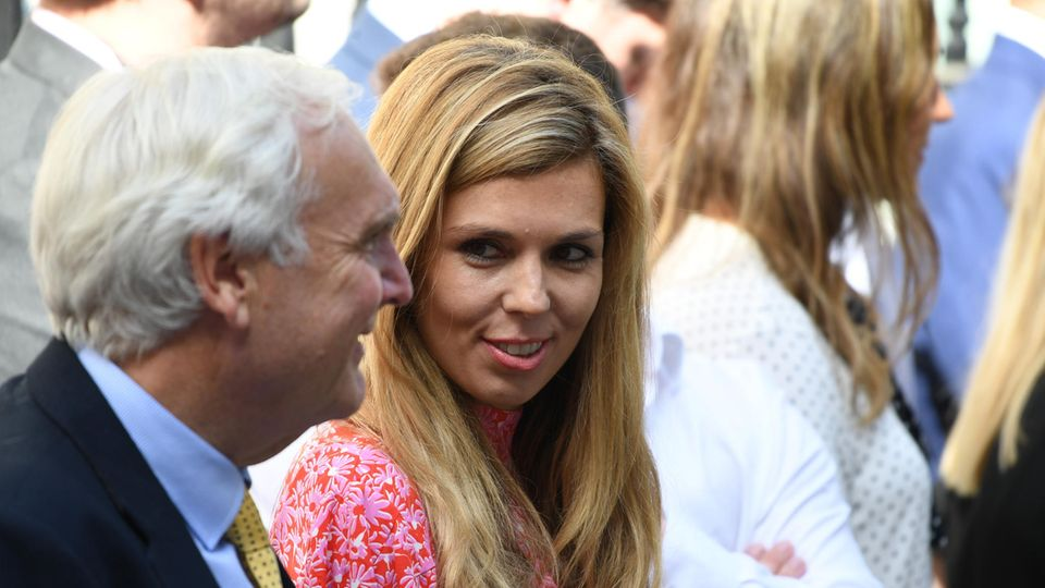 Carrie Symonds, die Freundin von Boris Johnson