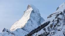 Blick aufs Matterhorn