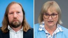 Grünen-Fraktionschef Anton Hofreiter und Umweltexpertin Bettina Hoffmann