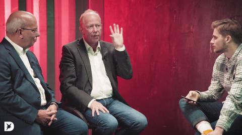 Polizist Rainer Wendt und Jugendrichter Andreas Müller
