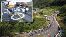 """""""Penis-Polizei"""" bei der Tour de France sorgt für Belustigung auf Twitter"""