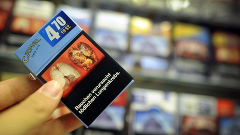 Zigarettenschachtel Ekelbilder