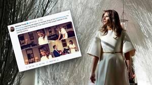 Melania Trump plant Weihnachtsdekoration des Weißen Hauses – im Juli.