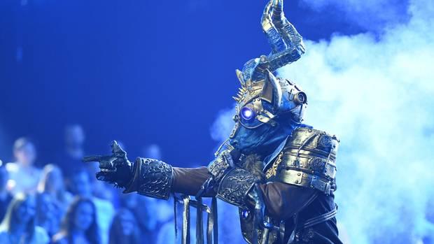 """Der Kudu gabbei """"The Masked Singer"""" bereits Songs von Lenny Kravitz und Robbie Williams zum Besten"""