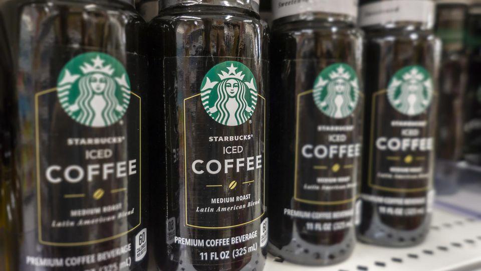Starbucks-Kaffee im Supermarkt