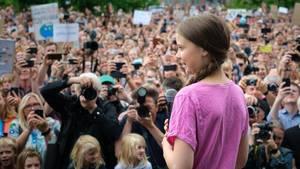 Umweltaktivistin Greta Thunberg